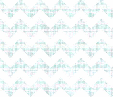 Chevron Sketch Aqua fabric by honey&fitz on Spoonflower - custom fabric