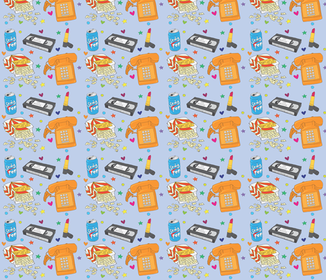 Sleepover Essentials fabric by polyesterdress on Spoonflower - custom fabric