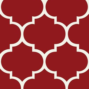 Fancy Lattice: Red