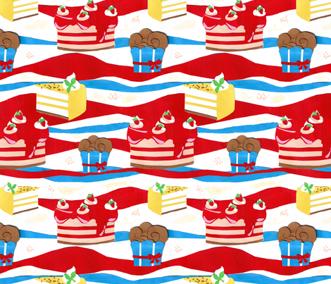 toertchenpapier fabric by jodysart on Spoonflower - custom fabric