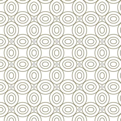 Geometric circles fabric by fridabarlow on Spoonflower - custom fabric
