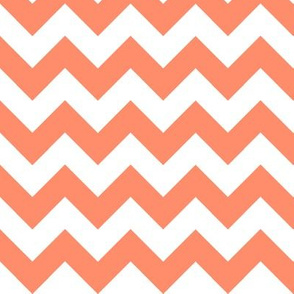 Two Chevrons Make A Right: Coral