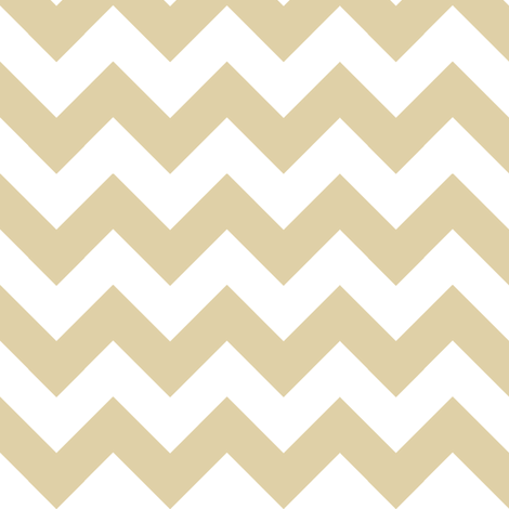 Two Chevrons Make A Right: Gold fabric by frontdoor on Spoonflower - custom fabric