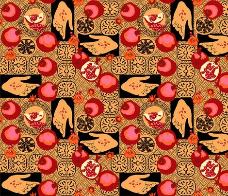Persephone fabric by artgarage on Spoonflower - custom fabric