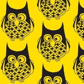 Hootie Cutie Owl Geaux Gold