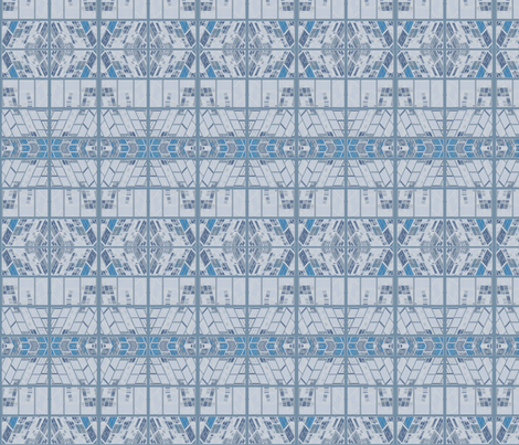 LImestone Blocks Ornate © Gingezel™ 2012 fabric by gingezel on Spoonflower - custom fabric