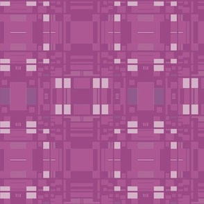 Berry Colored Geometric Pattern © Gingezel™ 2013