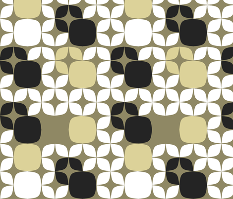 Neutral Blocks fabric by fridabarlow on Spoonflower - custom fabric