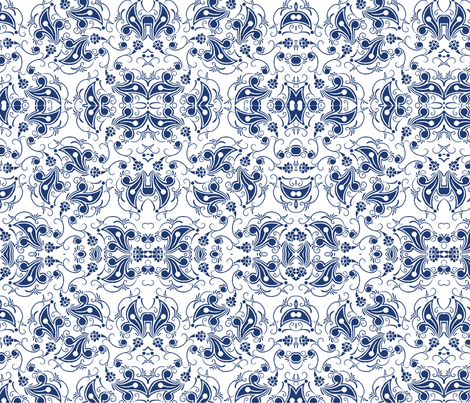 China Pattern fabric by flyingfish on Spoonflower - custom fabric