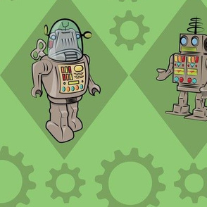 Robots in Green