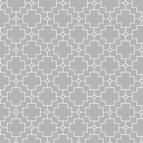 Trellis on Grey