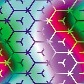 Honeycomb Rainbow 2