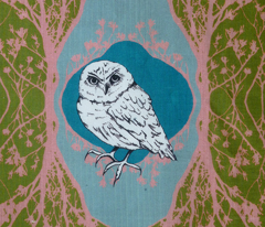Modern Majestic - Owl cushion cover