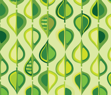 Evergreen fabric by bippidiiboppidii on Spoonflower - custom fabric