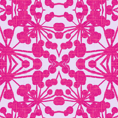 FloraXBpink fabric by joybea on Spoonflower - custom fabric