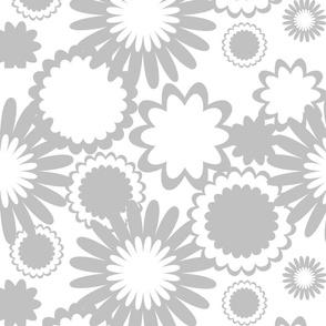 Gray Flowers