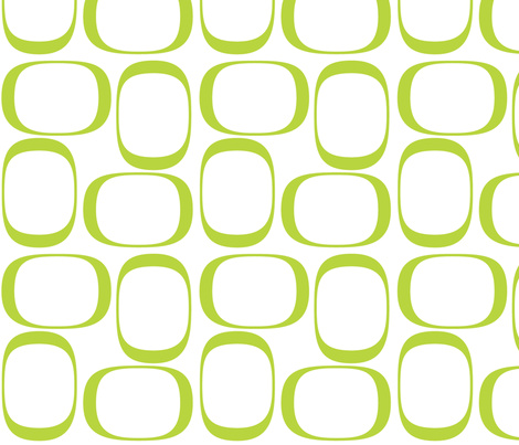 Apple Green Ovals fabric by bbsforbabies on Spoonflower - custom fabric