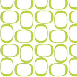 Apple Green Ovals