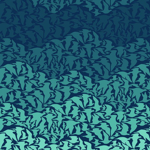 Flight of Pigeon (blue)