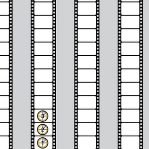 Silver Screen - Film Stripe (gray)