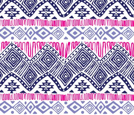 aztec fabric by cjordan10 on Spoonflower - custom fabric