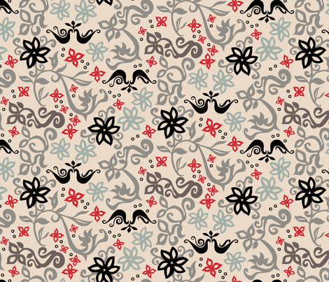 FF12-TEX-113_Fusion_Print_Stone fabric by modernprintcraft on Spoonflower - custom fabric