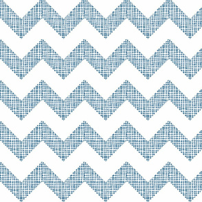 Chevron Sketch Navy