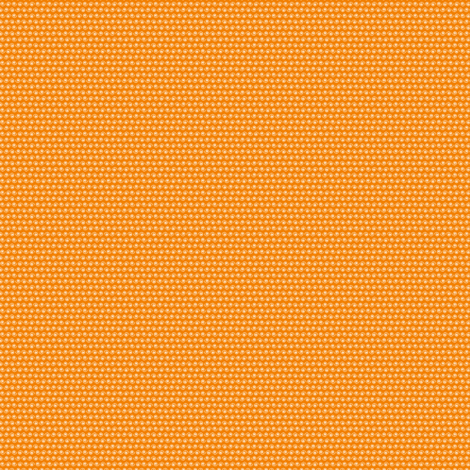 Micro Snail on Orange fabric by rhondadesigns on Spoonflower - custom fabric