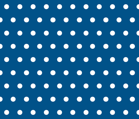 Dot Navy fabric by honey&fitz on Spoonflower - custom fabric