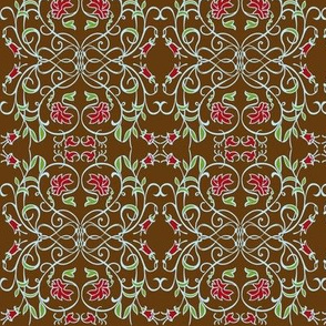 Sire Brown Damask
