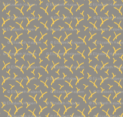 SmallVinesRough_Yellow