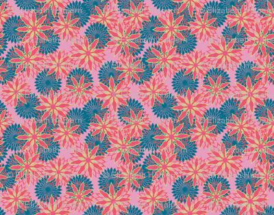 Flower Mix Print