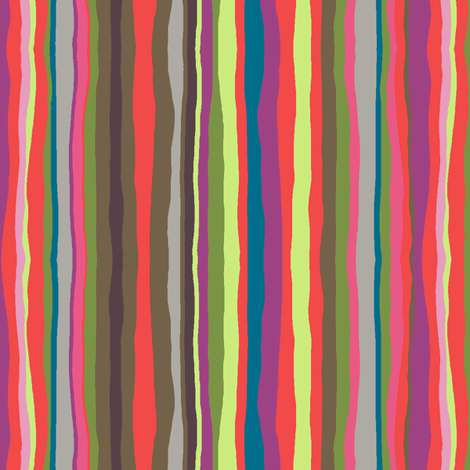 Rustica Stripe fabric by modernprintcraft on Spoonflower - custom fabric