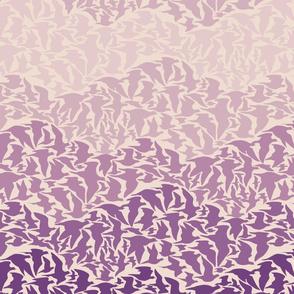 Flight of Pigeons (purple)