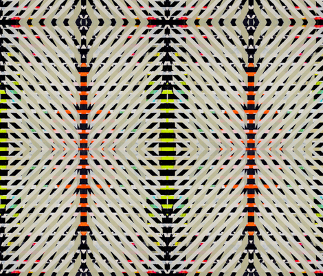 ny1214 fabric by jennifersanchezart on Spoonflower - custom fabric