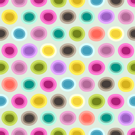 candy gouttelette polka fabric by scrummy on Spoonflower - custom fabric