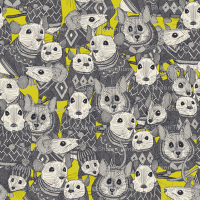 sweater mice chartreuse