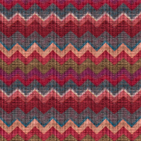 6th Doctor's Season 22 Vest - Left side fabric by bonnie_phantasm on Spoonflower - custom fabric