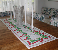 Sweet Cherry Table Topper