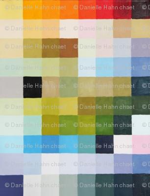 étude de couleur