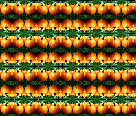 Pumpkins fabric by dabbledoit on Spoonflower - custom fabric
