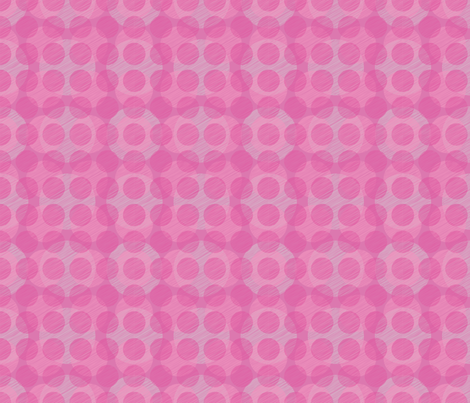 Pink Circles fabric by bojudesigns on Spoonflower - custom fabric