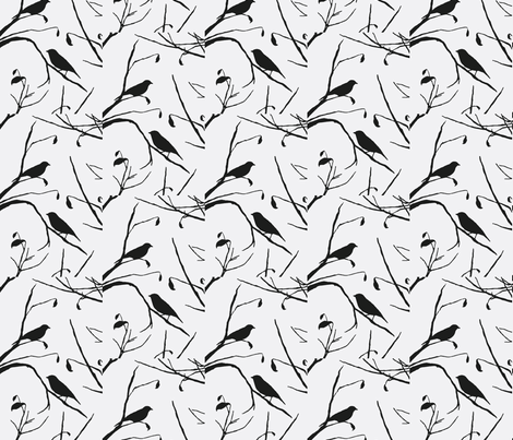 Bird Watching fabric by flyingfish on Spoonflower - custom fabric