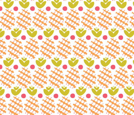 pineapple fabric by ottomanbrim on Spoonflower - custom fabric