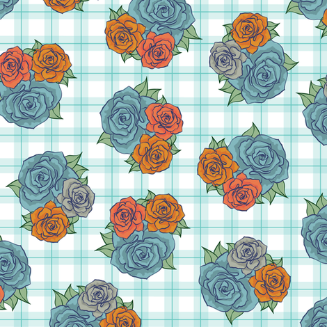 Floral Print fabric by flicm on Spoonflower - custom fabric