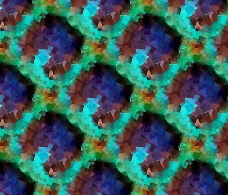 Peacock Cubism
