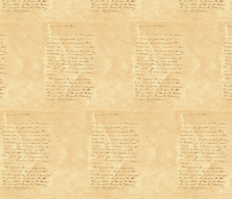 Letter fabric by trollop on Spoonflower - custom fabric