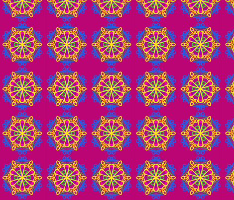 kaleidoscope_20 fabric by mammajamma on Spoonflower - custom fabric