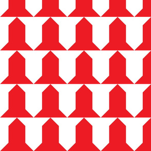 Vairy-gules and argent