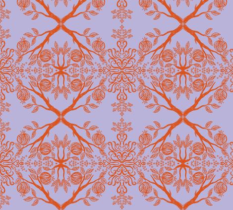 pom lav fabric by hooeybatiks on Spoonflower - custom fabric